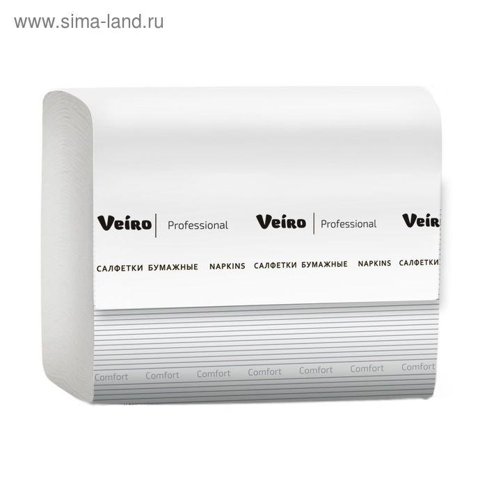 Салфетки бумажные Veiro Professional Comfort V сложение, 220 листов