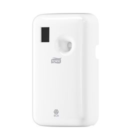 Диспенсер электронный Tork для аэрозольного освежителя воздуха (A1) белый
