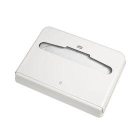 Lиспенсер Tork для бумажных покрытий на унитаз (V1) белый