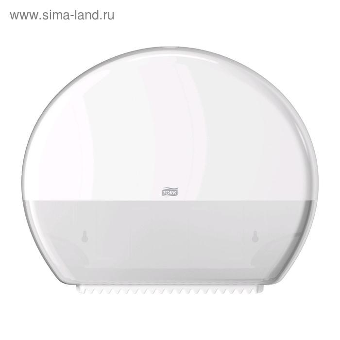 Диспенсер Tork для туалетной бумаги в больших рулонах (T1) белый