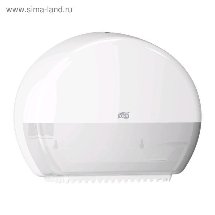 Диспенсер Tork для туалетной бумаги в мини-рулонах (T2) белый