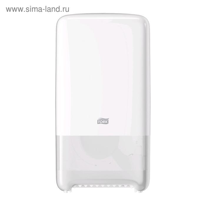 ДиспенсерTork для туалетной бумаги Mid-size в миди рулонах (T6) белый