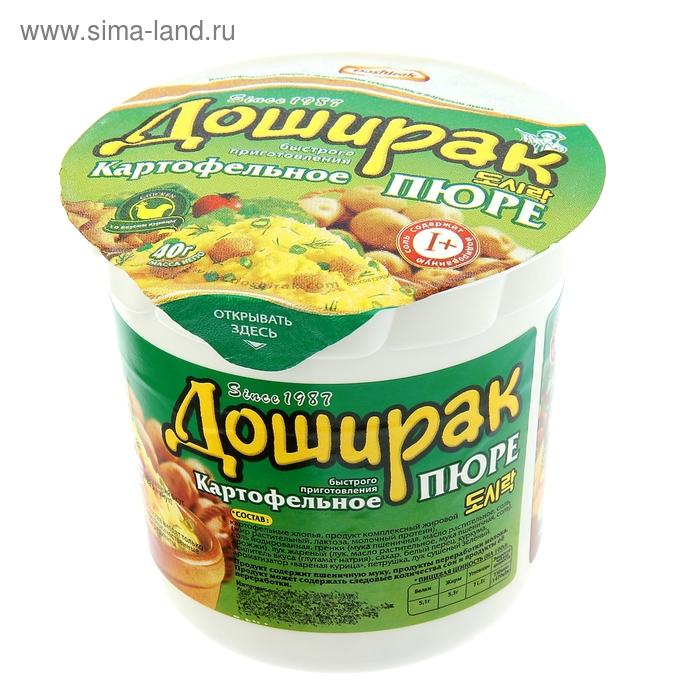 Картофельное пюре со вкусом Курицы в стакане 40 гр. Доширак