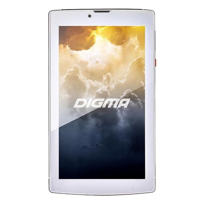"Планшет Digma Plane 7004 3G White 7"",1024x600,8Gb,Wi-Fi,BT,GPS,Android, белый"