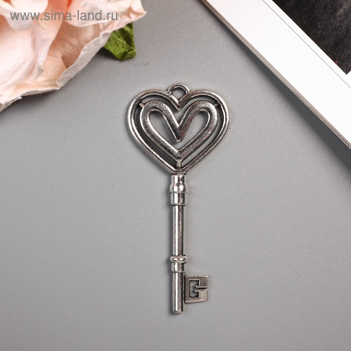 """Декоративный элемент """"Ключ от сердца"""""""