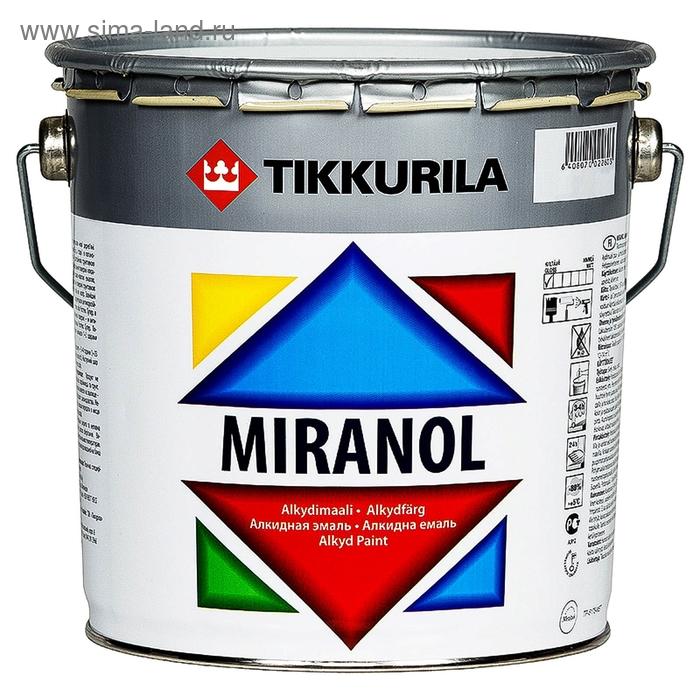 Эмаль Tikkurila MIRANOL тиксотроп 2,7 л
