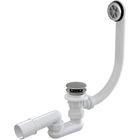 Сифон Alcaplast A505CRM, для ванны, комплект, хром