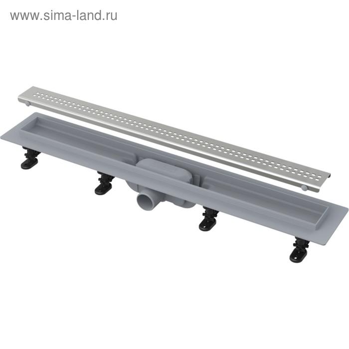 Водоотводящий жёлоб с порогами для перфорированной решётки APZ9-650 Simple