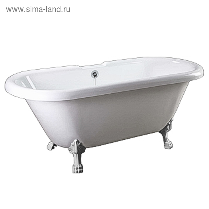 """Ванна акриловая Faro """"КОМФОРТ"""" CLDBL67, без ножек, 1700*800*720мм"""