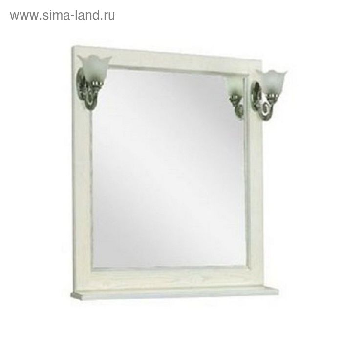 "Зеркало Акватон ""Жерона 85"", цвет белое серебро"