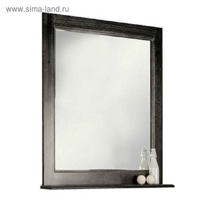 "Зеркало Акватон ""Жерона 85"" 1A158702GEM50, цвет чёрное серебро"