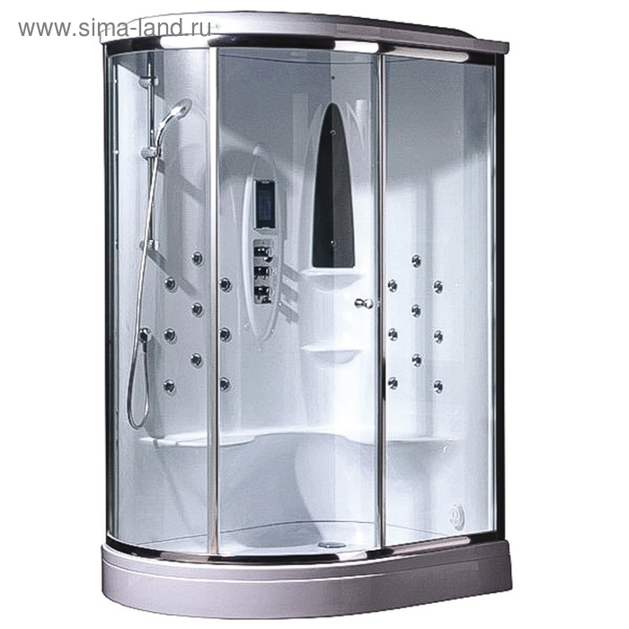 Душевая кабинка Asanas AS-2080 L, 130 х 100 х 225 см