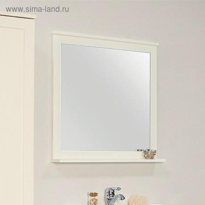 "АКВАТОН. Зеркало ""Леон 80"" Дуб белый 1A186402LBPS0"