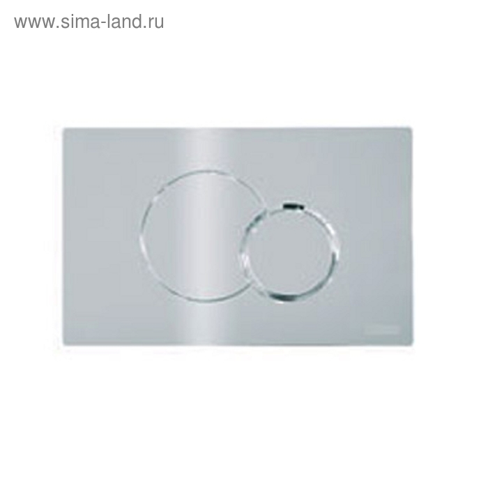 Кнопка Eclipse 2 механическая, цвет - хром матовый, для системы инсталляции RP150101000, RP051032000