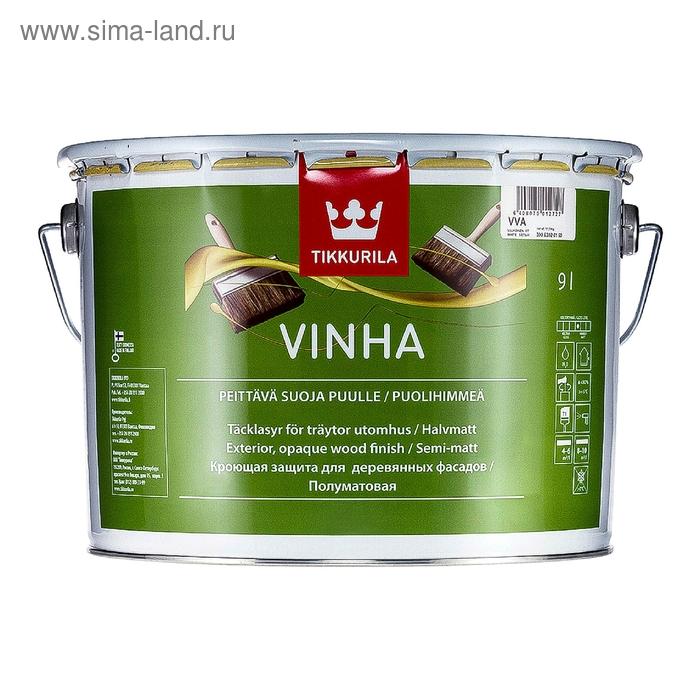 Кроющий антисептик Tikkurila VINHA, 9 л