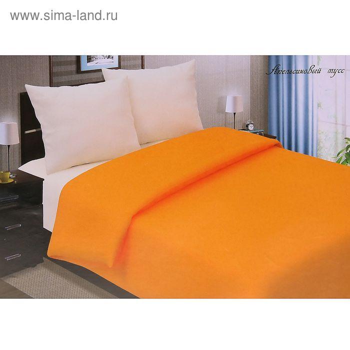"""Постельное бельё Pastel """"Апельсиновый мусс"""" евро, размер 200х217 см, 220х240 см, 70х70 см - 2 шт., поплин, 110 г/м2"""