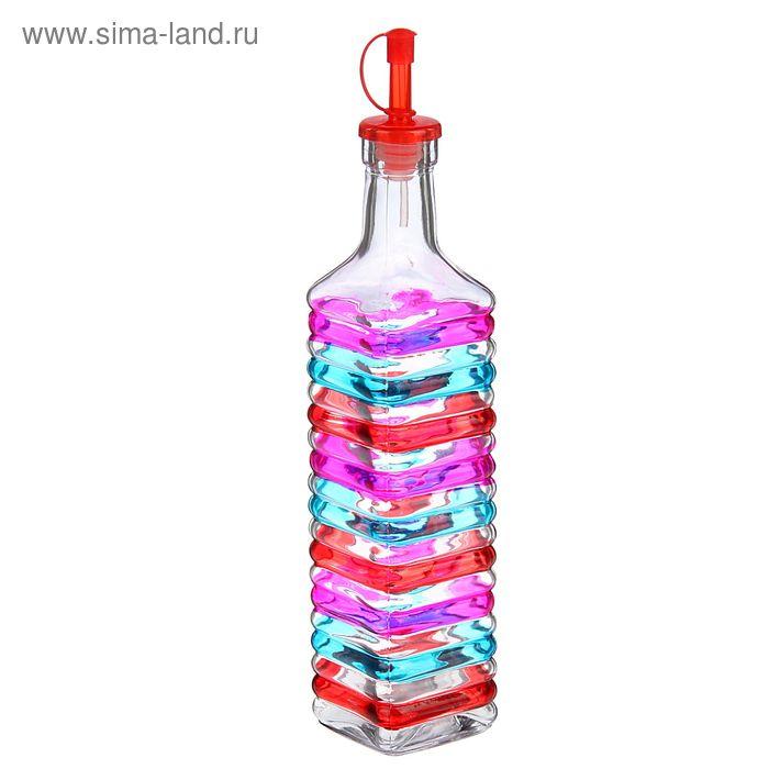 """Бутыль для соусов и масла 600 мл """"Галерея"""", 6,5х30 см, цвет МИКС"""