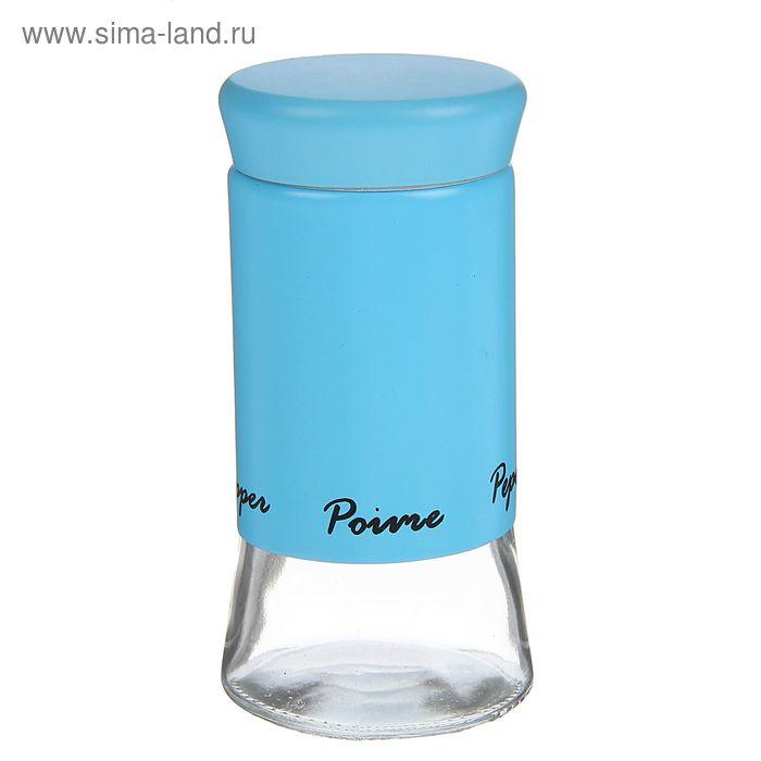 """Емкость для специй 200 мл """"Пастель"""", 5,5х11 см, цвет голубой"""