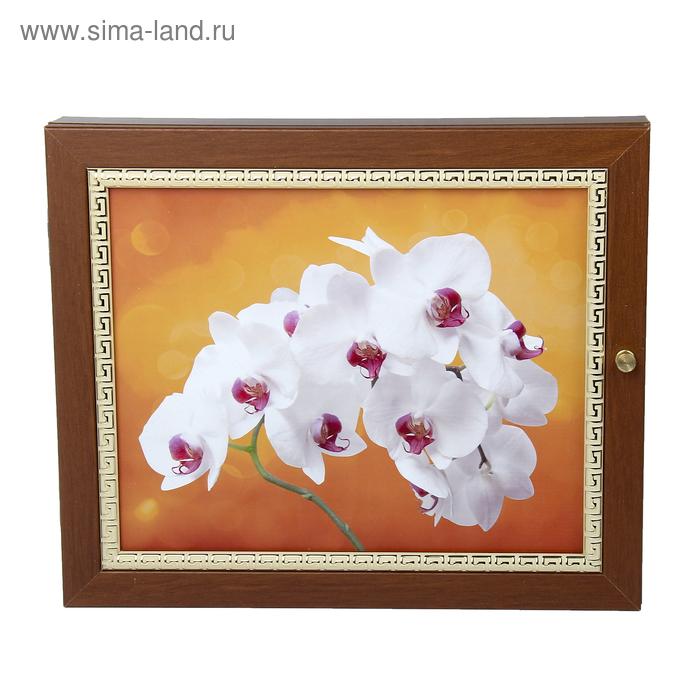 "Ключница ""Белые цветы"" МИКС"