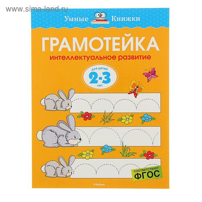 Грамотейка. Интеллектуальное развитие детей 2-3 лет. Автор: Земцова О.Н.