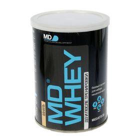 Протеин MD Whey 60%  ультрафильтрационный концентрат  сывороточного белка  300 г. ваниль