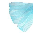 Регилин плоский гофрированный, 44мм, 20±1м, цвет голубой