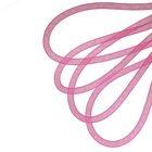 Регилин круглый, d=8мм, 25±1м, цвет фуксия
