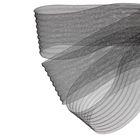 Регилин плоский гофрированный, 70мм, 20±1м, цвет чёрный