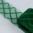 Регилин плоский клетка, 45мм, 22±1м, цвет зелёный
