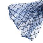 Регилин плоский клетка, 45мм, 22±1м, цвет синий