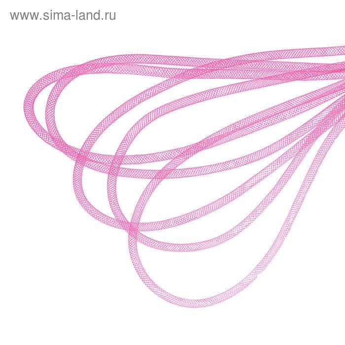 Регилин круглый, d=4мм, 25±1м, цвет розовый