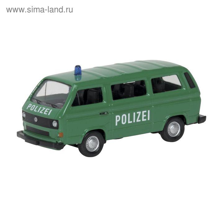 Автомобиль VW T3 bus POLIZEI, 1:87