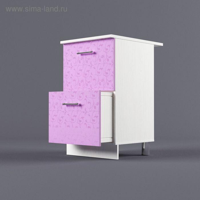Шкаф напольный 850*500*600 2 ящика Ирис