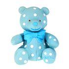 Латексная игрушка «Медвежонок с бантиком», цвета МИКС