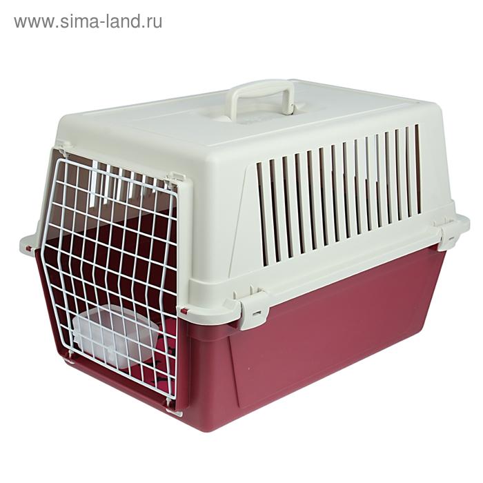 """Переноска Ferplast """"Atlas  30"""" для кошек и собак, 60 х 40 х 38 см  микс цветов"""