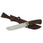 """Нож нескладной """"Варяг"""" ,кованная сталь 95х18, рукоять-венге, литье"""