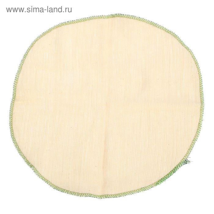 Салфетка для мебели трехслойная, НЕТКОЛ, 27х30 см, оверлок, плотность ткани - 120 г/м2, салфетки - 360 г/м2