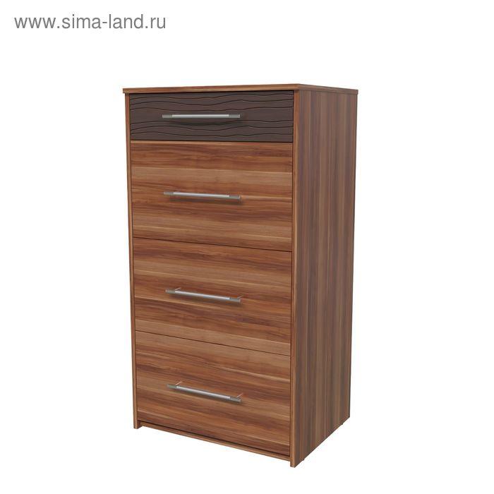 Комод ДЖОРДАН 600х445х1110 Слива/Венге