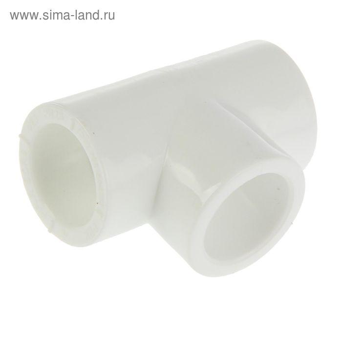 """Тройник """"РВК"""", полипропиленовый, 25 мм"""