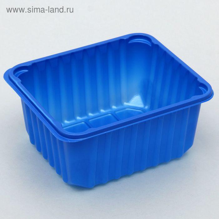 Лоток 14х12х7 см, цвет синий