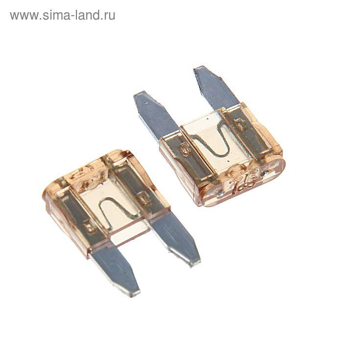 """Предохранители AVS FC-7,5A, """"мини"""", 7.5 А, набор 100 шт."""