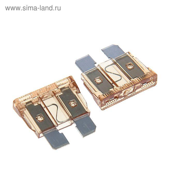"""Предохранители AVS FC-7,5A, """"стандарт"""", 7.5 А набор 50 шт."""