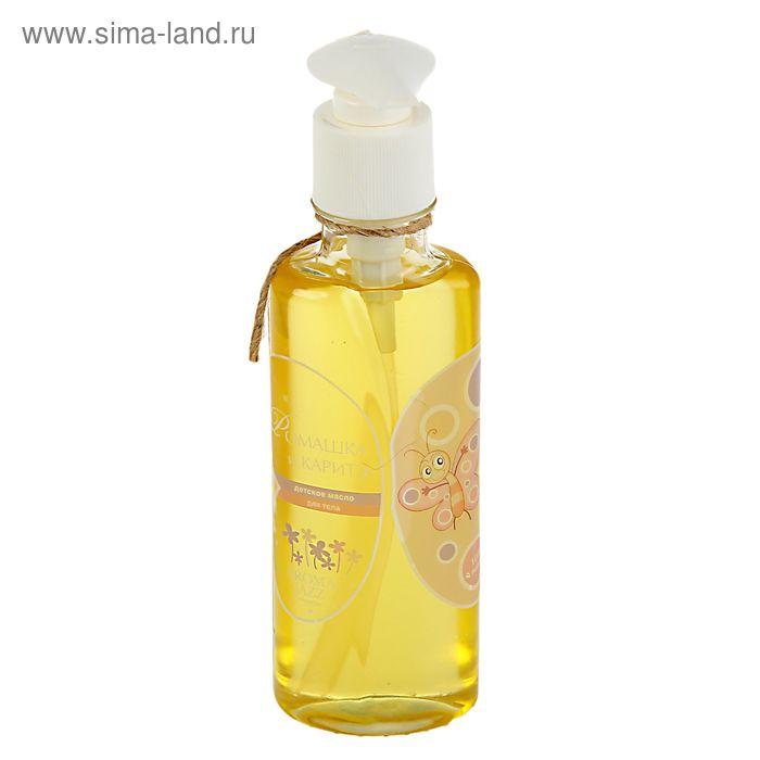 Массажное масло «Aroma Jazz» Ромашка и каритэ, детское, 200 мл