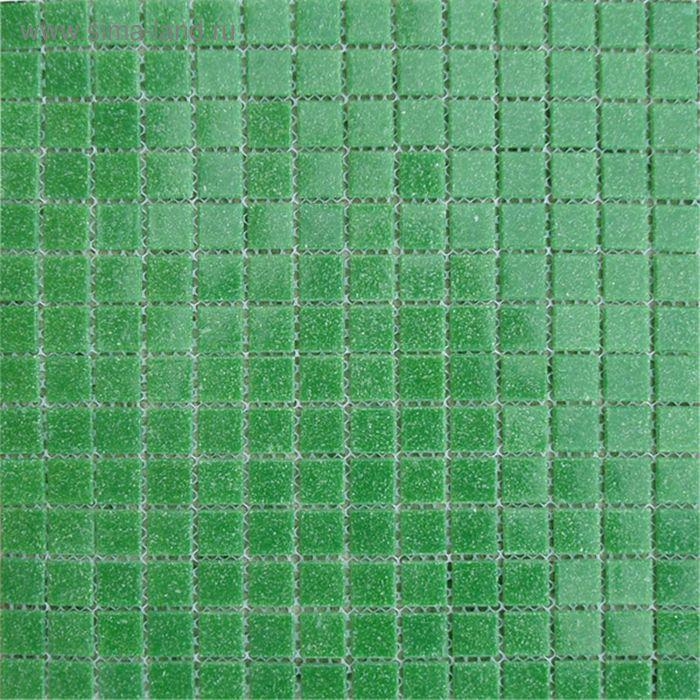 Mозаика стеклянная Elada Mosaic A41, тёмно-зелёная, 327х327х4 мм