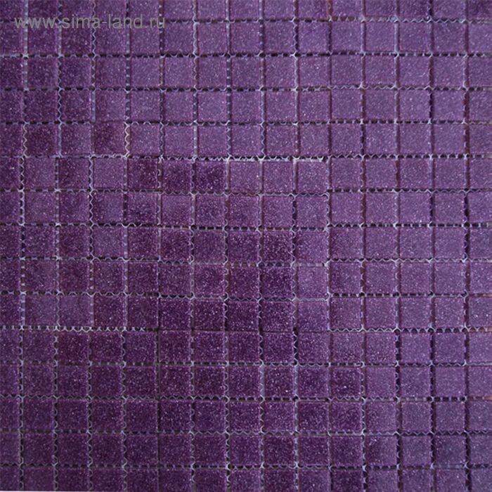 Mозаика стеклянная Elada Mosaic A62, тёмно-сиреневая, 27х327х4 мм