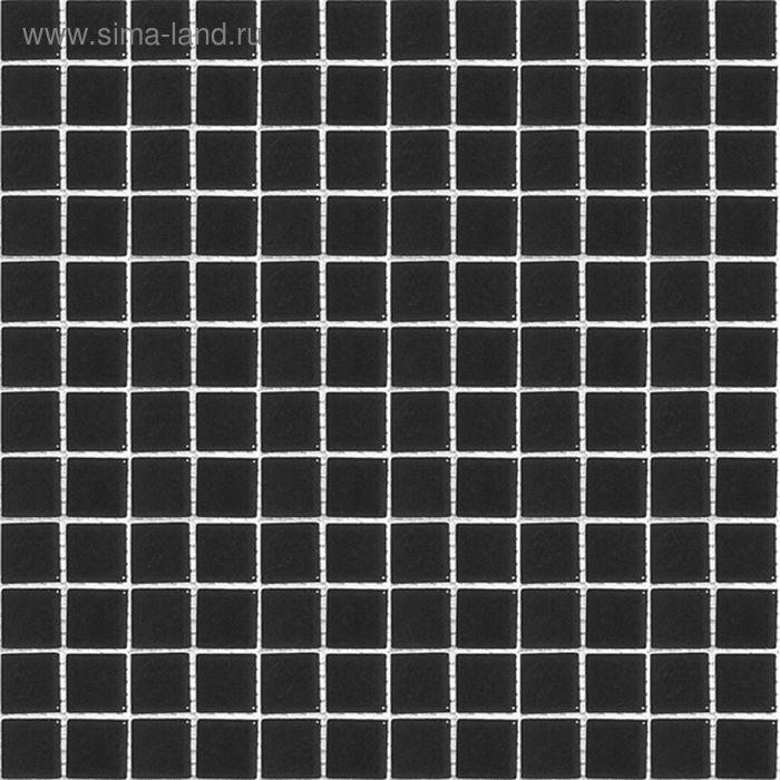Mозаика стеклянная Elada Mosaic A209, чёрная, 327х32х4 мм