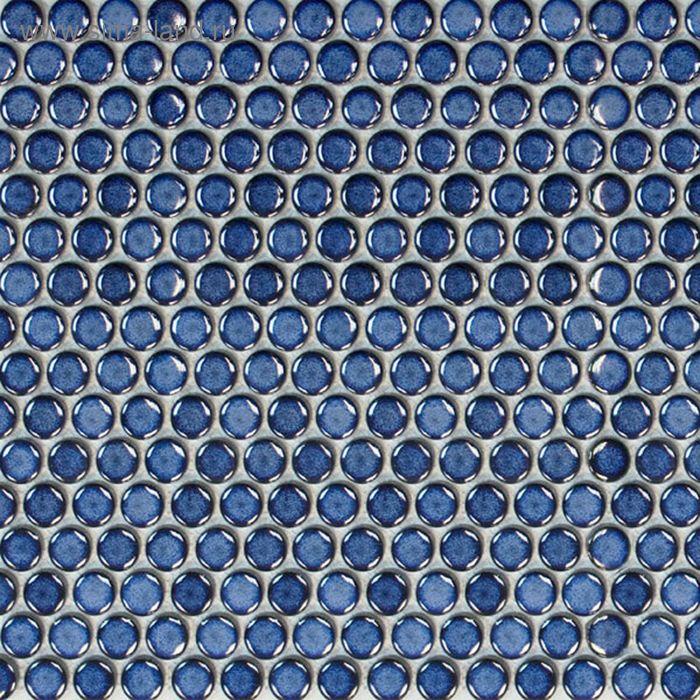 Mозаика керамическая Elada Mosaic 19EB-19, синяя, 300х300х6 мм