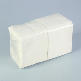 Салфетка белая Big Pack, 24х24. 400 листов
