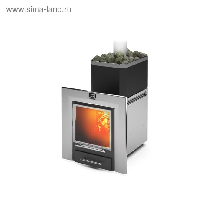 Печь банная Теплодар Русь 12 ЛНЗП панорама