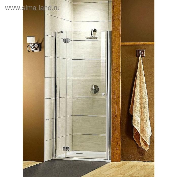 Душевая дверь Radaway Torrenta DWJ 90/L 900*1850 хром/прозрачное/6мм 31900-01-01